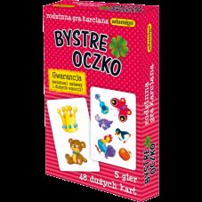 Karty - Bystre Oczko + Gratis Audiobook do wyboru