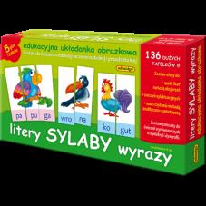 Litery sylaby wyrazy +...