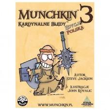 Munchkin 3 - Kardynalne...