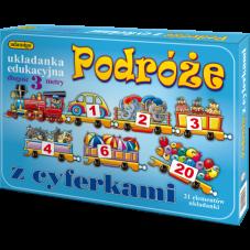 PODRÓŻE Z CYFERKAMI +...