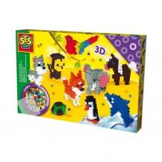 Zwierzęta 3D - koraliki...