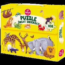 Puzzle - Świat zwierząt +...