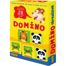 Domino obrazkowe + Gratis Audiobook do wyboru