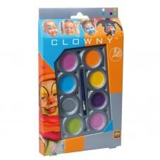 Farby wodne do malowania twarzy - 8 modnych...