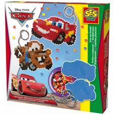 Koralikowe prasowanki - Disney CARS - breloczki
