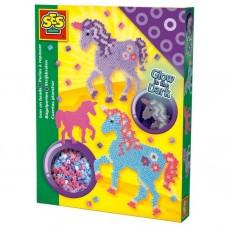 Koralikowe prasowanki - fantazyjne konie
