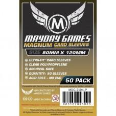 MAYDAY Koszulki Magnum Gold Ultra-Fit Czarne...