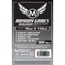 MAYDAY Koszulki Magnum Silver (70x110mm) 100 szt