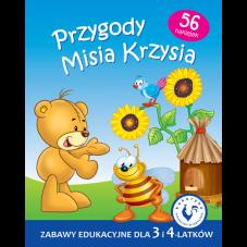 Przygody Misia Krzysia + Gratis Audiobook do...
