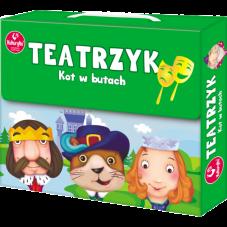 Teatrzyk - Kot w butach + Gratis Audiobook do...