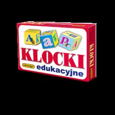 Klocki 12-elementowe - edukacyjne + Gratis...