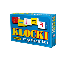 KLOCKI 12-elementowe - cyferki + Gratis...