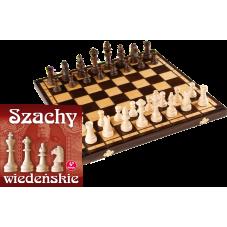 """Szachy drewniane  """"Wiedeńskie"""" + Gratis..."""