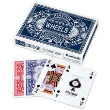 """Karty do Gry - """"Wheels"""" Bridge - podwójne"""