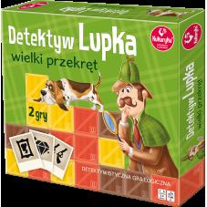 DETEKTYW LUPKA - WIELKI PRZEKRĘT + Gratis...