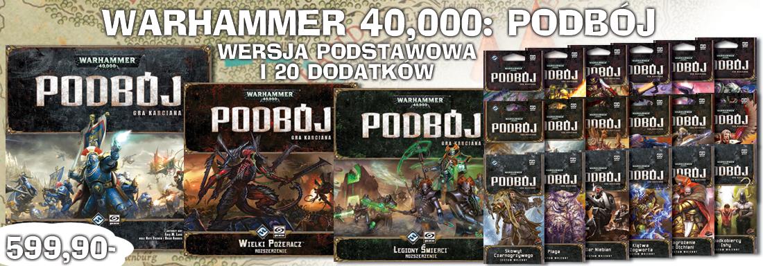 Warhammer 40000: Podbój - kolekcja